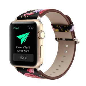 Apple Watch Leather flower